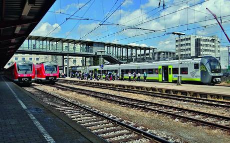 Die Pünktlichkeit von Regional- und S-Bahnen in Bayern ist 2019 um 0,4 Prozent gegenüber 2018 zurückgegangen