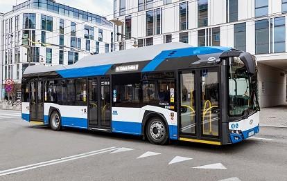 Erweiterung der Flotte der Stadtwerke Solingen um 16 emissionsfreie Trollino 12