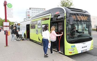 Busbahnhof Wolfsburg