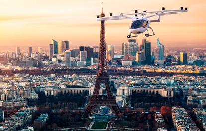 Flugtaxi in Paris
