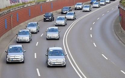 29 VW eUps verstärken ab sofort die swa Carsharing-Flotte. Sie sind sowohl flexibel als auch stationsbasiert im Einsatz (Bild: swa / Thomas Hosemann)