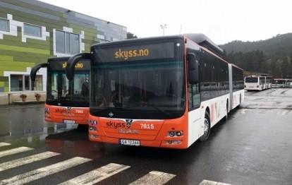 125 mit Biogas betriebene MAN-Stadtbusse bringen Einwohner und Besucher Bergens ab sofort zuverlässig und umweltfreundlich an ihr Ziel.