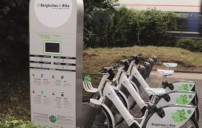 Über 15.000 Fahrten wurden im laufenden Jahr 2020 bereits mit den E-Bikes der RVK in der Rhein-Voreifel-Region und im Bergischen Land registriert (Bild: RVK)