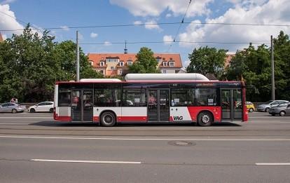 Bus in Nürnberg (Bild: VAG - Peter Dörfel)