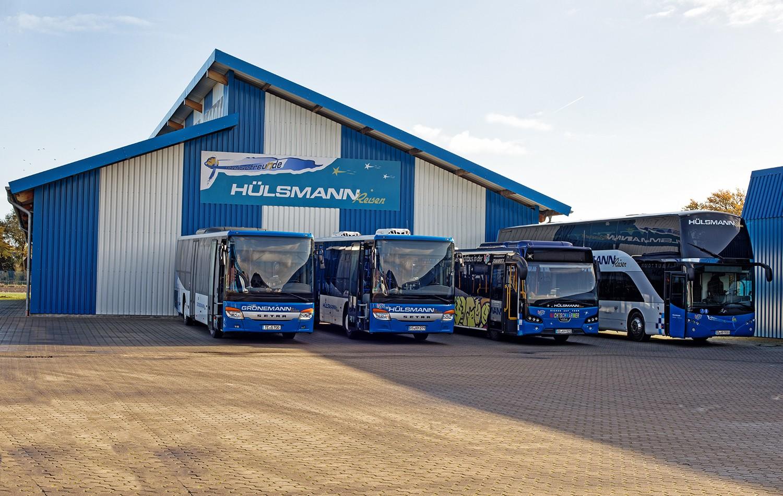 Das Omnibusunternehmen Hülsmann verwendet die mehrmandantenfähige Abolösung von Amcon, um die Arbeit mit anderen Verkehrsunternehmen zu erleichtern.