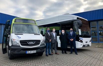 Die beiden von der NIAG getesteten Elektrobusse werden auf Kurz- und Langstrecken im gesamten Verkehrsgebiet eingesetzt, um Parameter wie die reale Reichweite und das Fahrverhalten der Busse mit neuer Antriebstechnologie zu prüfen.