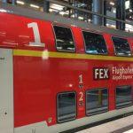 Fast leere Züge zum Flughafen BER