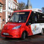 Erster Elektro-BürgerBus in NRW im Betrieb