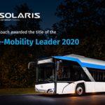 Global e-Mobility Leader-Preis für Solaris