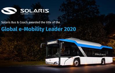 Emissionsarme und -freie Busse machten letztes Jahr 40% aller verkauften Solaris-Fahrzeuge aus.