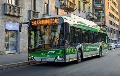 Urbino 12 electric für ATM Milano (Bild: Solaris)