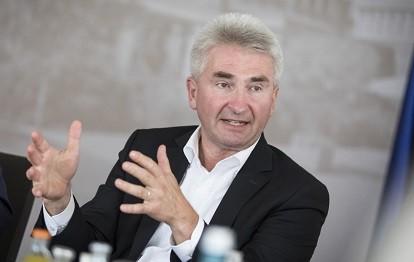 Energie- und Klimaschutzminister Prof. Dr. Andreas Pinkwart (Bild: Land NRW / Ralph Sondermann)