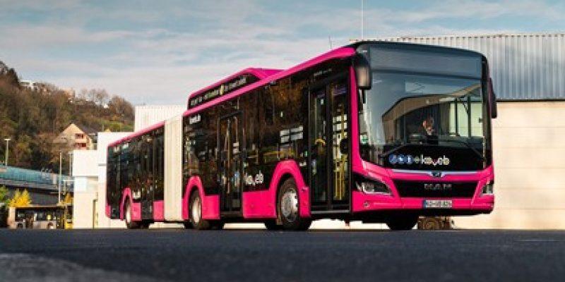 Passend zum Fahrplanwechsel im Dezember dieses Jahres setzen die Koblenzer Verkehrsbetriebe (KOEVB) insgesamt 29 gasbetriebene MAN Lion's City G mit MAN EfficientHybrid Technologie ein.