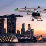 Volocopter-Flugtaxidienste in Singapur