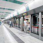 Bau des Linienkreuzes U2xU5 in Wien
