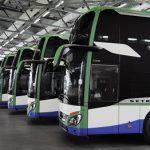 19 neue Setra Omnibusse für Geldhauser