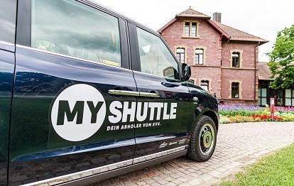 MyShuttle in Ettlingen (Bild: KVV / Paul Gärtner)
