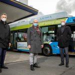 Erste Erfahrungen mit Wasserstoffbus in Münster