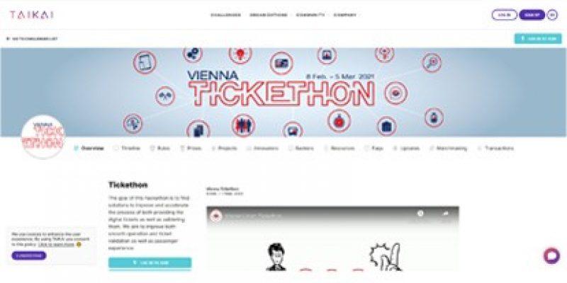 """Über 100 Kontrolleure sind täglich im gesamten Netz der Wiener Linien unterwegs und fragen die Fahrgäste nach einem gültigen Ticket. Im Rahmen eines internationalen Hackathon unter dem Namen """"Vienna Tickethon"""" suchen die Wiener Linien nun nach kreativen und effizienten Lösungen, um vor allem die Kontrolle der immer beliebter werdenden Digital-Tickets zu beschleunigen."""