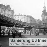 Sanierung der U3 in Hamburgs Innenstadt