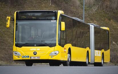 In den Städten Lüttich, Mons und Nivelles im wallonischen Teil Belgiens sind die ersten von insgesamt 129 neuen Gelenkbussen Mercedes-Benz Citaro G hybrid im Einsatz. Betreiber ist das Verkehrsunternehmen TEC Group.