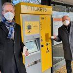 Neue Ticketautomaten im Probebetrieb der SSB