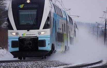 Zug der WESTbahn.