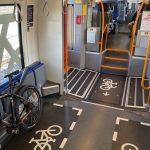 Erste umgebaute Triebwagen für das Netz Elbe-Spree im Einsatz