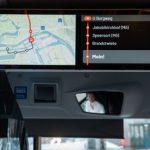Monitore in allen Bussen der HOCHBAHN