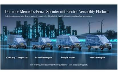 Unternehmensleitung und Arbeitnehmervertreter haben sich nun geeinigt, dass die nächste Generation des eSprinter in insgesamt drei Mercedes-Benz Vans Werken gebaut werden wird.