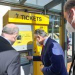 Neue Fahrausweisautomaten in Stuttgart