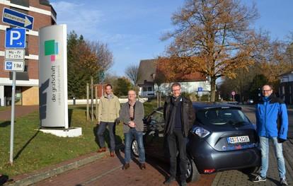 Die Stadtwerke-Carsharing-Tochter stadtteilauto weitet ihr Engagement in die Grafschaft Bentheim aus. Ab dem 1. April stehen zwischen Emlichheim und Bad Bentheim insgesamt sieben E-Autos für die gemeinsame Nutzung zur Verfügung.