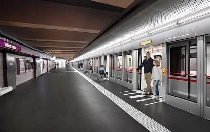 U2 Update (Bild: ARGE YF architekten ZT GmbH & Franz&Sue ZT GmbH; Visualisierung OLN – Office Le Nomade)