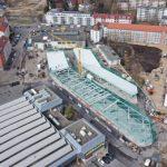 Bau des eBus-Ports der VAG Nürnberg im Zeitplan
