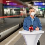 Studie: Bahnfahren auch in Pandemiezeiten sicher