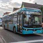 Weitere drei Buslinien in Frankfurt fahren mit Strom
