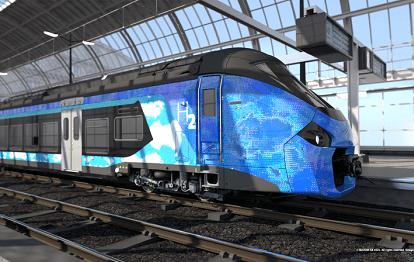 Coradia Polyvalent Wasserstoffzug (Bild: Alstom Design)