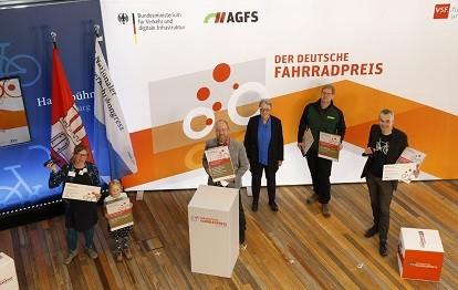 Preisverleihung 2021 (Bild: Deutscher Fahrradpreis / Michael Deckbar)