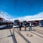 Fünf neue Urbos 100 für Freiburg