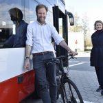 Für ein sicheres Miteinander von Rad und Bus: Abbiegeassistenten bei der HOCHBAHN