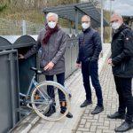 Bike+Ride-Anlage am S-Bahn-Haltepunkt Witterschlick