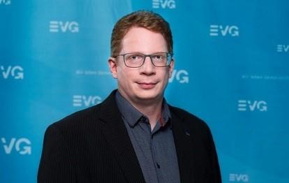 Kristian Loroch, Vorstandsmitglied der Eisenbahn- und Verkehrsgewerkschaft EVG (Bild: EVG / Henning Schacht)