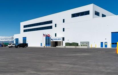 Hauptsitz von Stadler US Inc. in Salt Lake City, UT. Hier sollen die neuen Metro-Züge für MARTA gebaut werden. Bild: Knorr-Bremse