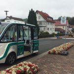EASY-Shuttle erstmals auf öffentlicher Straße