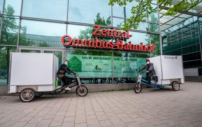 """Ende Mai wird das zweite Mikrodepot der Hamburger Hochbahn AG (HOCHBAHN) am ZOB in Betrieb genommen. Der Standort gehört zum Teilprojekt """"Warenlogistik Mikrodepot"""" vom Reallabor Hamburg (RealLabHH)."""