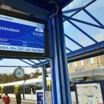 Neue Anzeigetafeln zeigen Zug-Auslastung in Echtzeit