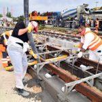 Bau der Linie 3 nach Königsbrunn
