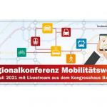 Regionalkonferenz Mobilitätswende erstmals virtuell