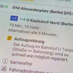Barrierefreiheit im Berliner ÖPNV