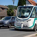 Autonomes EASY-Shuttle in Bad Soden-Salmünster startet Fahrgastbetrieb